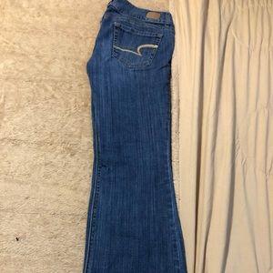 Bootcut Artist American Eagle Jeans
